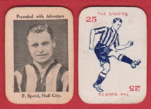 Hull City Fred Speed